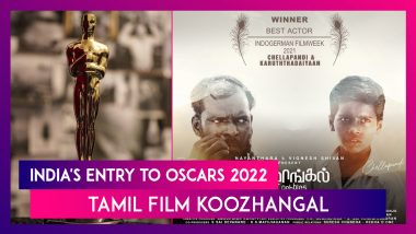 India's Entry To Oscars 2022: Tamil Film Koozhangal Is The Official Entry For The 94th Academy Awards