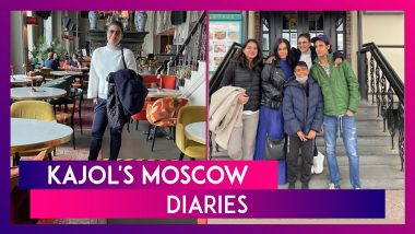 Kajol's Moscow Diaries: Actress spends time With Son Yug, Sister-In-Law Neelam & Nephew Aman in Russia