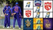 IND vs PAK, T20 World Cup 2021: Wasim Jaffer Picks His Indian Playing XI for Pakistan Clash With IPL Team Logos (Check Post)