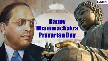 Dhammachakra Pravartan Day 2021 Status Images & HD Wallpapers For Free Download Online: Wish Ashok Vijayadashami With Dhammachakra Pravartan Din WhatsApp Messages and Greetings