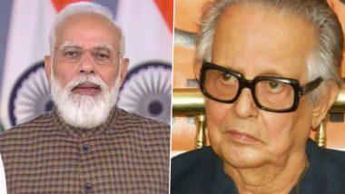 PM Modi Pays Tribute to RK Laxman on Cartoonist's 100th Birth Anniversary