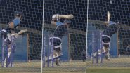 Virat Kohli Gears Up for India vs Pakistan T20 World Cup 2021 Clash With Some Scintillating Shots During Training (Watch Video)