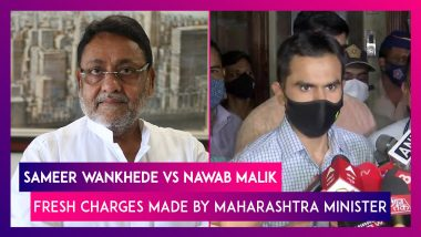 Sameer Wankhede vs Nawab Malik: Fresh Charges Made By Maharashtra Minister Against The NCB Officer