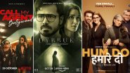 OTT Releases of The Week: Soni Razdan's Call My Agent - Bollywood on Netflix, Emraan Hashmi's Dybbuk - The Curse is Real on Amazon Prime Video, Kriti Sanon's Hum Do Hamare Do on Disney+ Hotstar and More