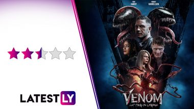 Venom Let There Be Carnage Movie Review: Tom Hardy's Spider-Man Spin-Off is Entertaining, Weird and Flawed! (LatestLY Exclusive)