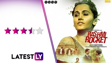 Rashmi Rocket Movie Review: Taapsee Pannu Soars High in This Extraordinary Sports Film That Tackles the Hypocrisy of Gender Tests (LatestLY Exclusive)
