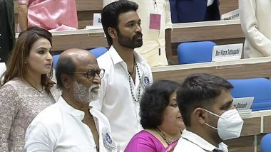 67th National Film Awards: Pictures Of Rajinikanth, Dhanush With Their Family Members From The Prestigious Ceremony Go Viral