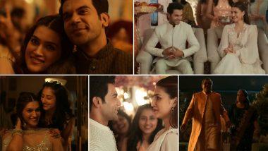 Hum Do Hamare Do Song Vedha Sajjeya: Rajkummar Rao, Kriti Sanon's Chemistry Shines in This Soothing Wedding Number (Watch Video)