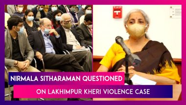 Nirmala Sitharaman, Union Finance Minister Questioned On Lakhimpur Kheri Violence, Attacks Against Muslims During US Visit
