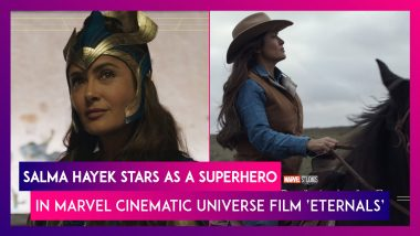 Eternals: Salma Hayek Stars As A Superhero In This New Offering In Marvel Cinematic Universe