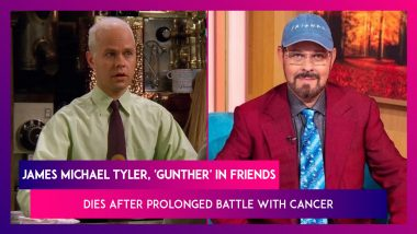 James Michael Tyler, 'Gunther' In Friends, Dies After Prolonged Battle With Cancer