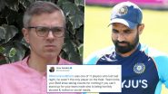 Omar Abdullah Urges Indian Team To Stand Up for Mohammed Shami After Bowler Gets Abused Online Following India's Defeat to Pakistan in T20 World Cup 2021