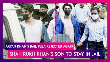 Aryan Khan's Bail Plea Rejected Again, Shah Rukh Khan's Son To Stay In Jail; Lawyers To Move High Court