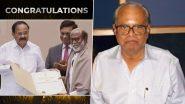 67th National Film Awards: Rajinikanth Conferred With Dadasaheb Phalke Award, Thalaiva Dedicates The Prestigious Honour To His Mentor K Balachander (Watch Video)