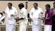 67th National Film Awards: Vijay Sethupathi Receives Best Supporting Actor Award For Super Deluxe; D Imman Receives Best Music Director Award For Viswasam (View Pics)