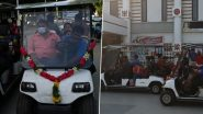 Battery-Operated Car Facility Introduced at Madurai Junction In Southern Railway (View Pics)