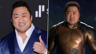 Eternals: Ma Dong-seok Opens Up About His Character Gilgamesh in the Superhero Movie, Says 'It Reflects My Signature Action Style'