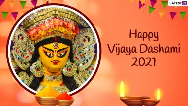 Subho Bijoya Dashami 2021 Greetings: WhatsApp Status Video, Wishes, Messages, Quotes and Images To Send on the Day of Durga Visarjan