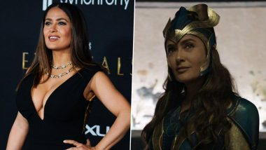 Eternals: Salma Hayek Talks About Her Role As Spiritual Leader Ajak in the Marvel Film, Says 'Everything Is Possible'