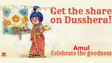 Dussehra 2021: Amul Releases Topical Ad Wishing People 'Happy Dusshera!'