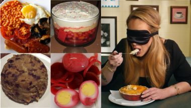 Spotted Dick, Pickled Eggs – 12 English Dishes That Adele Tried in Blindfold Taste Test by British Vogue (Watch Video)