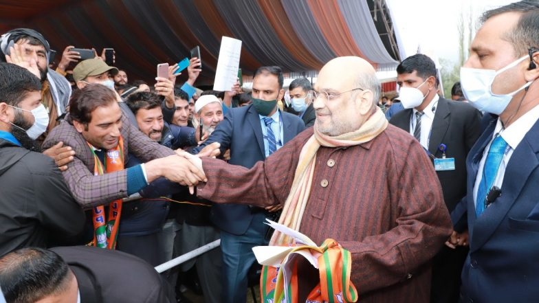 Amit Shah on NC Chief Farooq Abdullah Seeking Talks with Pakistan: 'Would Rather Talk to Kashmir's Youth' | LatestLY