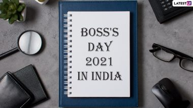 Boss's Day 2021 Date in India: When and Why Is Boss Day Celebrated? Know History, Significance and Celebrations Related to the Special Day