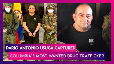 Colombia Captures Country's Most Wanted Drug Trafficker Dario Antonio Usuga 'Otoniel'
