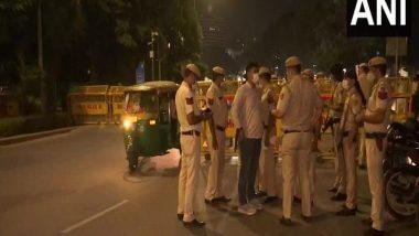 Delhi Police Increases Security Including Anti-Terrorist Measures in View of Festive Season
