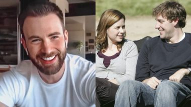 Chris Evans Is a Fan of The Office, Gushes Over John Krasinski and Jenna Fischer's Romance on the Show!