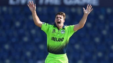Curtis Campher, Ireland Pacer, Becomes First Bowler to Take Four Wickets in Four Balls in ICC T20 World Cup