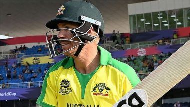 David Warner Gears Up for AUS vs SL T20 World Cup 2021 Game, Posts Photo in Team Australia Jersey