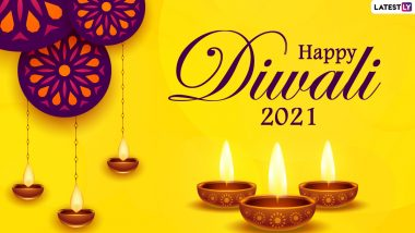 40 Happy Diwali 2021 Wishes for Family & Friends: WhatsApp Stickers, GIF Greetings, Images, HD Wallpapers, SMS and Quotes To Send Shubh Deepavali Messages