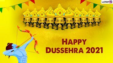 Vijaya Dashami 2021 Wishes: President, PM Narendra Modi, Rahul Gandhi and Other Leaders Extend Greetings on Dussehra