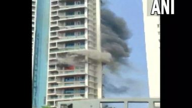 Mumbai Fire Update: One Person Who Jumped From 19th Floor of High Rise Building Succumbs to His Injuries