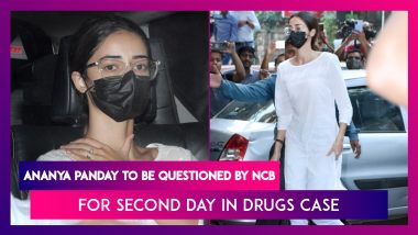 Ananya Panday To Be Questioned For Second Day By NCB On WhatsApp Chats In Drugs Case