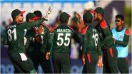SL vs BAN Live Score Updates of T20 World Cup 2021: Catch Live Commentary and Full Scorecard of Sri Lanka vs Bangladesh Match