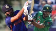 IND vs PAK, ICC T20 World Cup 2021 Super 12 Dream11 Team Selection: Recommended Players As Captain and Vice-Captain, Probable Line-up To Pick Your Fantasy XI