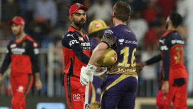 RCB vs KKR Stat Highlights, Eliminator, IPL 2021: Sunil Narine Steals the Spotlight in Virat Kohli's Last Game As Bangalore Captain