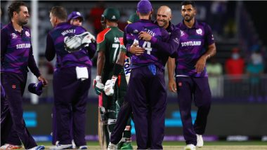T20 World Cup 2021: From Scotland's Win Over Bangladesh to Zimbabwe Toppling Australia, Here Are Five Memorable Upset Wins in T20 World Cup History