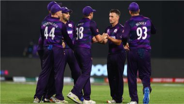 Afghanistan vs Scotland T20 World Cup 2021 Live Streaming Online: Get Free TV Telecast of AFG vs SCO, Group 2 Super 12 Match of ICC Men's Twenty20 WC With Time in IST
