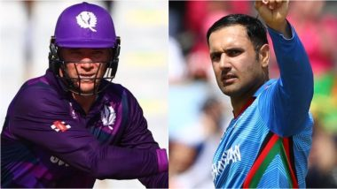 Dream11 Fantasy Team Picks AFG vs SCO, T20 World Cup 2021: Recommended Players As Captain and Vice-Captain