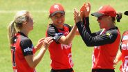 Melbourne Renegades Women vs Adelaide Strikers Women, WBBL 2021 Live Cricket Streaming: Watch Free Telecast of MR W vs AS W on Sony Sports and SonyLiv Online
