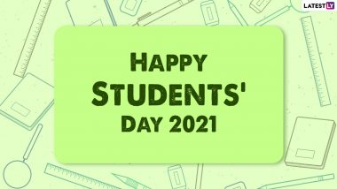 World Students' Day 2021 Wishes: WhatsApp Messages, HD Images, Quotes, Greetings and SMS To Share and Observe Dr APJ Abdul Kalam's Birth Anniversary