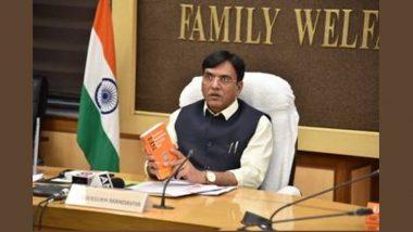 Union Health Minister Mansukh Mandaviya launches the Sixth Edition of National Formulary of India