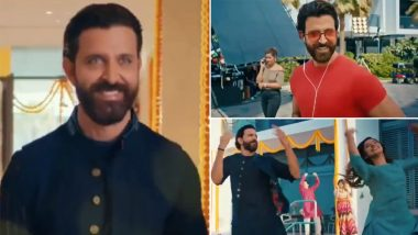 Hrithik Roshan's Latest Festive Ad Teaser Featuring His Sizzling Dance Moves Takes the Internet by Storm!