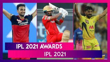 IPL 2021 Awards: Ruturaj Gaikwad & Harshal Patel Win Purple & Orange Honour Respectively, Check List