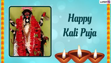 Kali Puja 2021 Date, Shubh Muhurat & Kali Chaudas Tithi: From Puja Vidhi to Amavasya Time & Significance, Everything You Need To Know About Shyama Puja Celebrated During Diwali