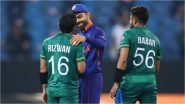 Virat Kohli Interacts With Mohammad Rizwan Following Pakistan's 10-Wicket Win Over India, PCB Terms it Spirit of Cricket (See Photo)