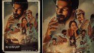 Kurup Release Date: Dulquer Salmaan's Malayalam Thriller To Hit the Big Screens on November 12!